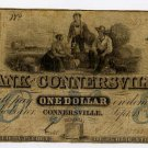 Connersville, Bank of Connersville, $1, 1852