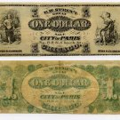 Chicago, Advertising Note, EH Stein's City of Paris, 1 Dollar