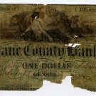 Geneva, Kane County Bank, $1, 1859