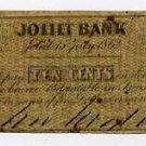 Joliet, M? Woodruff, 10 Cents, July 15, 1862