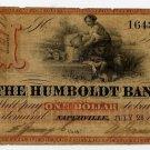 Illinois, Naperville, The Humboldt Bank, $1, July 28, 1860