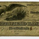 Illinois, Pittsfield, Pittsfield Bank, $5, June 1, 1859
