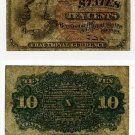 Fractional Currency, Fourth Issue,10 Cents