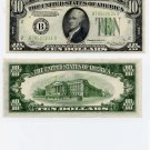 1934A $10 Federal Reserve Note