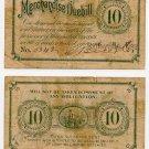Kansas, Baileyville, C Rice & Co., 10 Cents