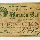 Monson, SF? Rogers, 10 Cents, Nov 20, 1862