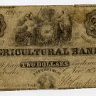 Pittsfield, Agricultural Bank, $2, Nov 18, 1855