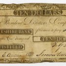 Pittsfield, Berkshire Bank, $10, Feby 5, 1807