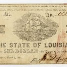 Louisiana, Shreveport, State of Louisiana, $1, 1864