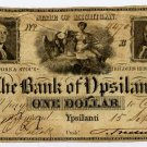 Michigan, Ypsilanti, Bank of Ypsilanti, $1, Sept 15, 1837