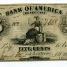 New York, NY, J.W. Winn & Co., 5 Cents, November 15, 1862