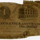 Ohio, Cincinnati, Mechanics and Traders Bank, $1, Dec 26 ?, (1838-44)