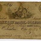 Ohio, Columbus, Franklin Bank of Columbus, $3, April 4, 1837