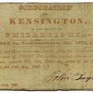 Pennsylvania, Kensington, Corporation of Kensington, $3, May 9, 1837
