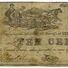 Pennsylvania, Oxford, Borough of Oxford, 10 Cents, December 1, 1862