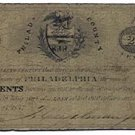 Pennsylvania, County of Philadelphia, 20 Cents, May 23, 1837