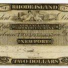 Rhode Island, Newport, New England Commercial Bank, $2, 18--, (1830s)