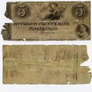 New York, Adams (Watertown), Jefferson County Bank, $5, Oct 1, 1841