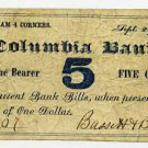 New York, Chatham Four Corners, Bassett and Belden, 5 Cents, Sept 29, 1862