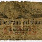 New York, Frankfort, Frankfort Bank, $1, May 1, 1861