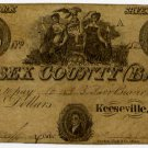 New York, Keesville, Essex County Bank, $3, May 1, 1848?