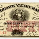 New York, Mohawk, L.L. Lowell, 50 Cents, Nov 1, 1862