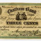 New York, New York, Manchester and Mackellar, 3 Cents, November 20, 1862