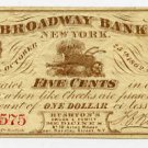 New York, New York, Rushton's Drugs and Family Medicines, 5 Cents, October 25, 1862