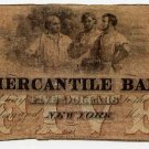 New York, New York, The Mercantile Bank, $5, May 1, 1859