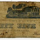 New York, Peekskill, Horton Depew & Sons, 25 Cents, July 12, 1862