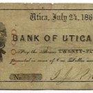 New York, Utica, I.J. Knapp, 25 Cents, July 24, 1862