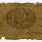 New York, Utica, Bank of Utica, 12 1/2 Cents, Sept 1, 1815
