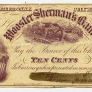 New York, Watertown, Higgins, Johnson and Woodhull, 10 Cents, July 15, 1862