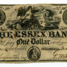 Vermont, Guildhall, The Essex Bank, $1, December 1, 1838