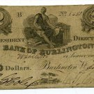 Vermont, Burlington, Bank of Burlington, $2, January, 1842