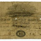 Connecticut, New Haven, New Haven Bank, $10, July 10, 1818
