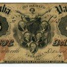 Nebraska Territory, Brownsville, Nemaha Valley Bank, $5, December 15, 1856