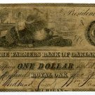 Michigan, Royal Oak, Farmers Bank of Oakland, $1, Dec 28, 1837