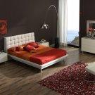 Contemporary White Toledo Bedroom Set 5 pcs