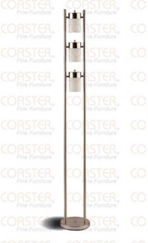 Modern Contemporary Metal Swivel Floor Lamp