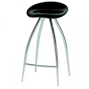 Modern Acrylic Swivel Counter Bar Stool