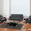 Global Furniture 2033 Sherman Leather Living Room Set
