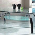 Asian Cuba Glass Coffee Table