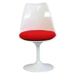 Mid Modern Plastic Saarinen Knoll Style Dining Chair