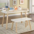 Childrens Kids Art Table & Bench Chair Set Adjustable