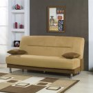 Microfiber Storage Sleeper Sofa Bed Futon Couch Dorm