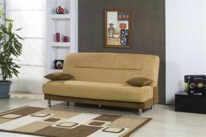 Microfiber Storage Sleeper Sofa Bed Futon Couch Dorm