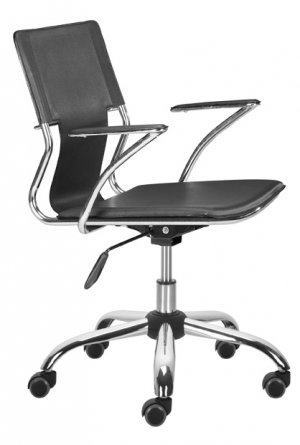 Modern Z Leather Computer Office Task Chair 4 Colors!