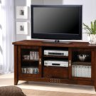 Walnut Wood TV Cabinet LCD Plasma Stand w Shelves