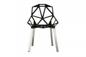 CHAIR ONE stackable dining side accent chair outdoor